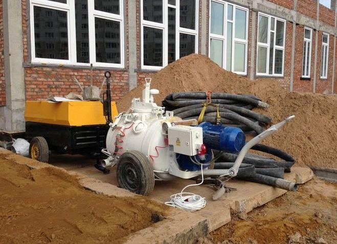 Машины для стяжки пола цементным раствором керамзитобетон в межэтажных перекрытиях