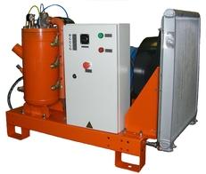 Электрические нешумозаглушенные компрессорные станции ЗИФ с релейным управлением